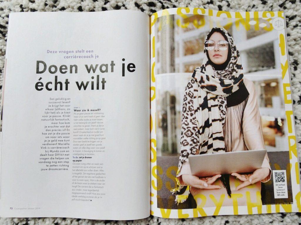 Cosmopolitan, artikel doen wat je echt wilt